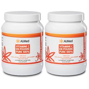 vitamine c en poudre pure 100 qualit sup rieure pack 2 pots de 1 kg. Black Bedroom Furniture Sets. Home Design Ideas